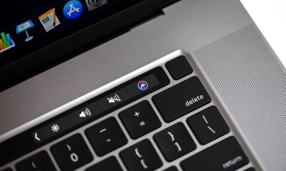Touch Bar Control Strip