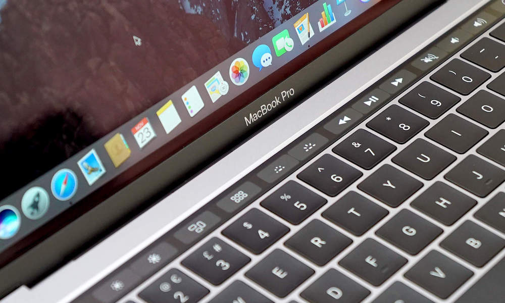 Expanded Control Strip MacBook Pro Touch Bar