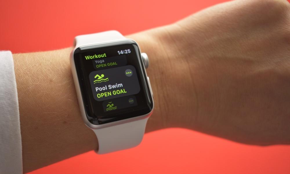 Apple Watch Series 3 Workout App