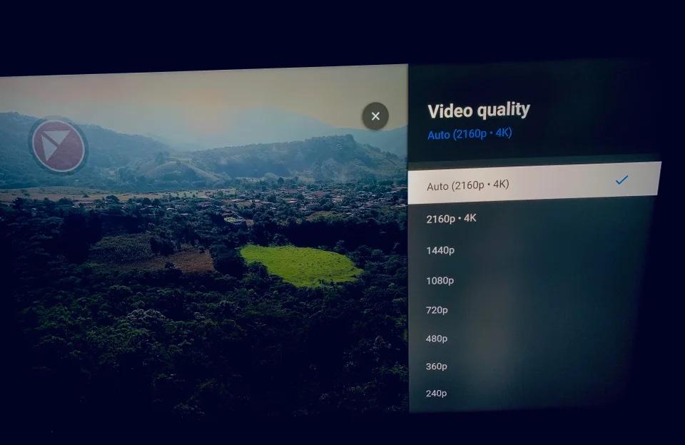 Apple TV YouTube 4K setting