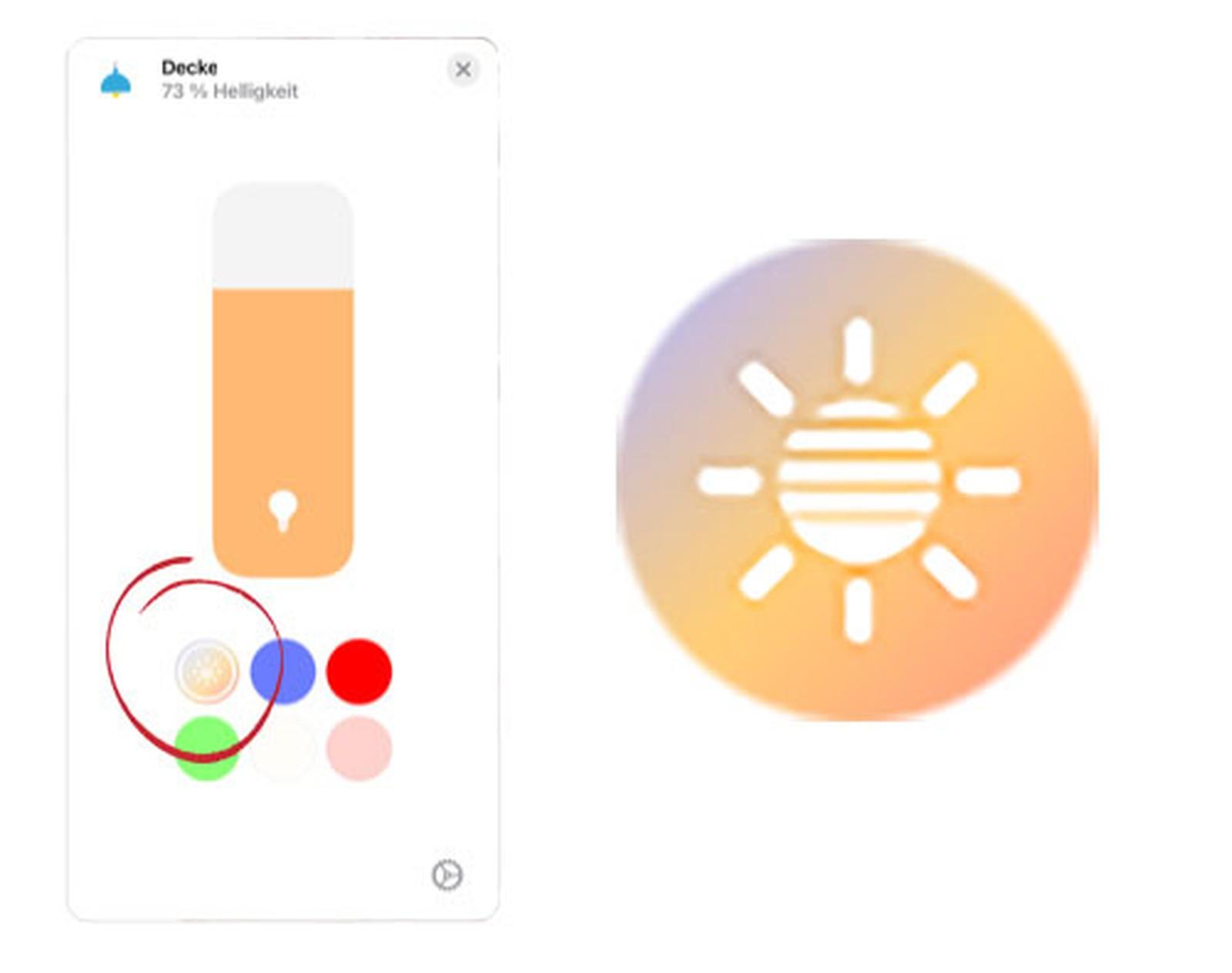 iOS 14 HomeKit Adaptive Lighting Controls