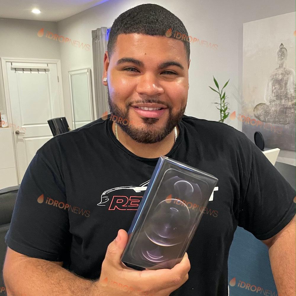 Matthew R New York iDrop News iPhone 12 Pro Max Giveaway Winner October 2020