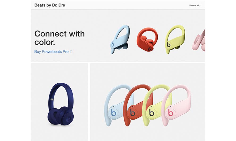 Apple Beats Page