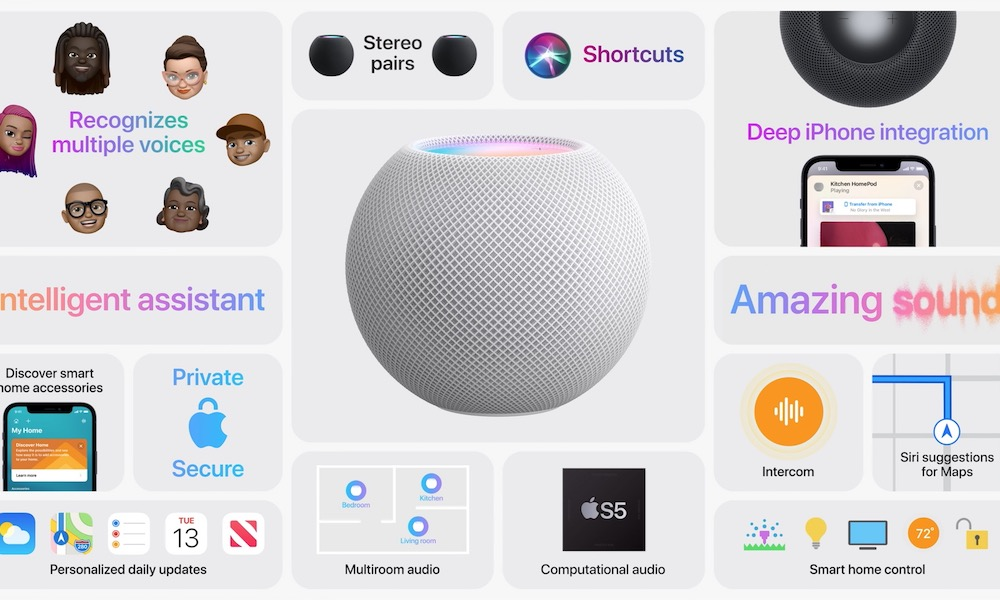 HomePod mini Overview Hero