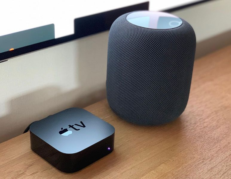 Apple TV and HomePod
