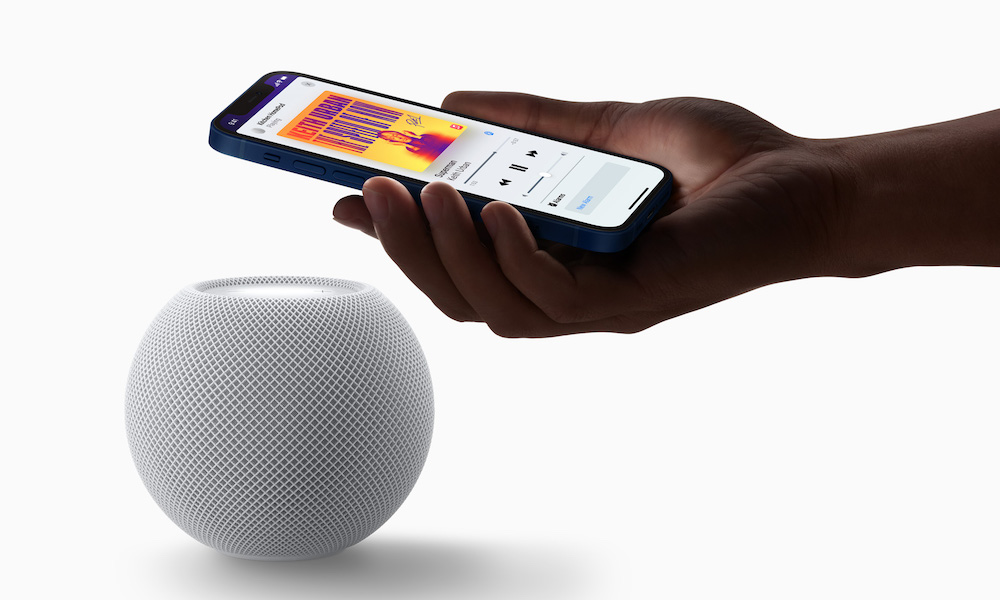 HomePod mini with iPhone 12