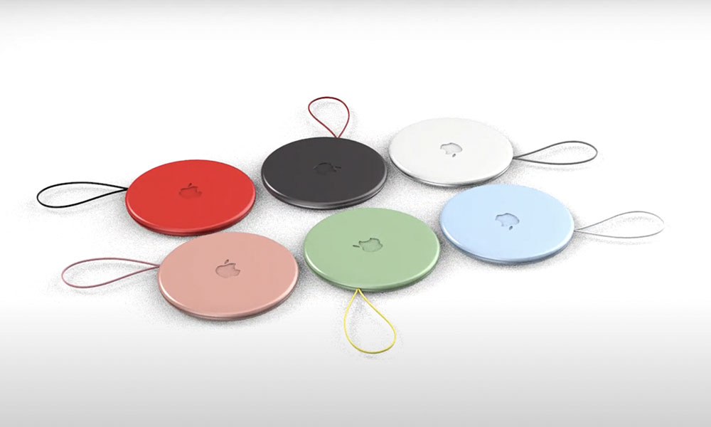 AirTags concept multicolour