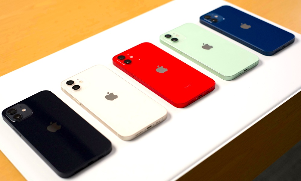 iPhone 12 Colors at Apple Store
