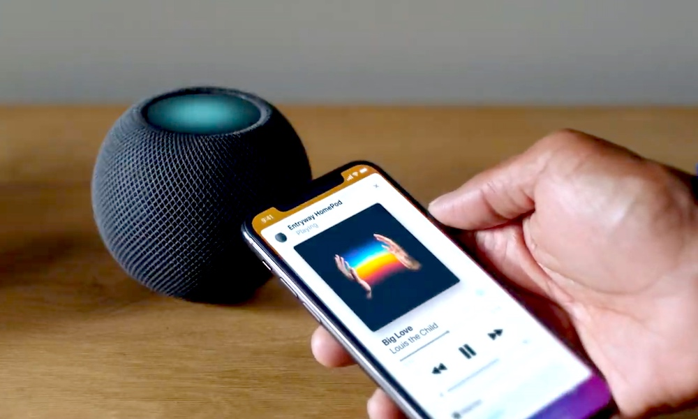 HomePod mini Handoff Apple Music