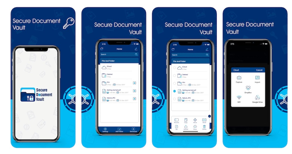 Secure Folder iPhone iPad1