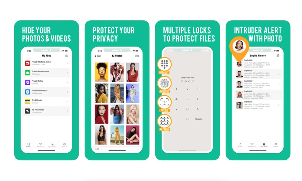Secure Folder Pro iPhone iPad1