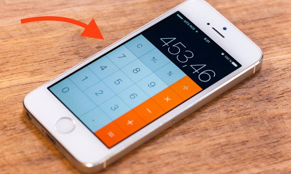 iPhone Calculator App