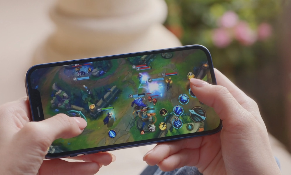 A14 Gaming on iPhone 12