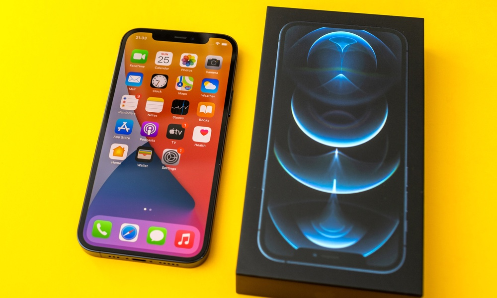 iPhone 12 Pro and Box