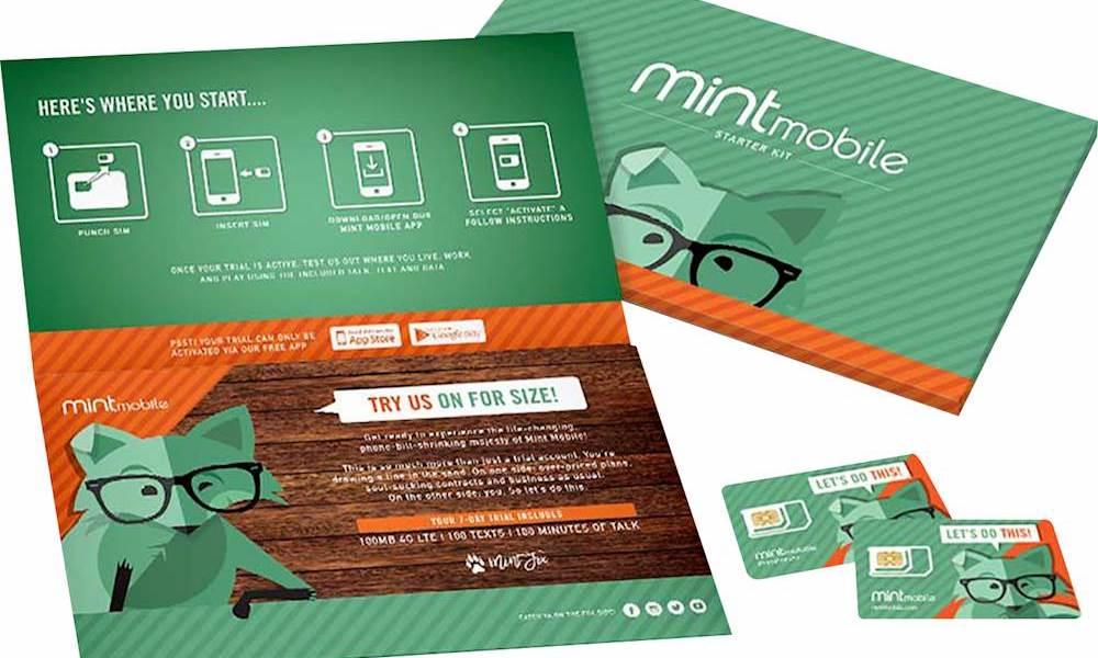 Mint Mobile SIM Card Kit