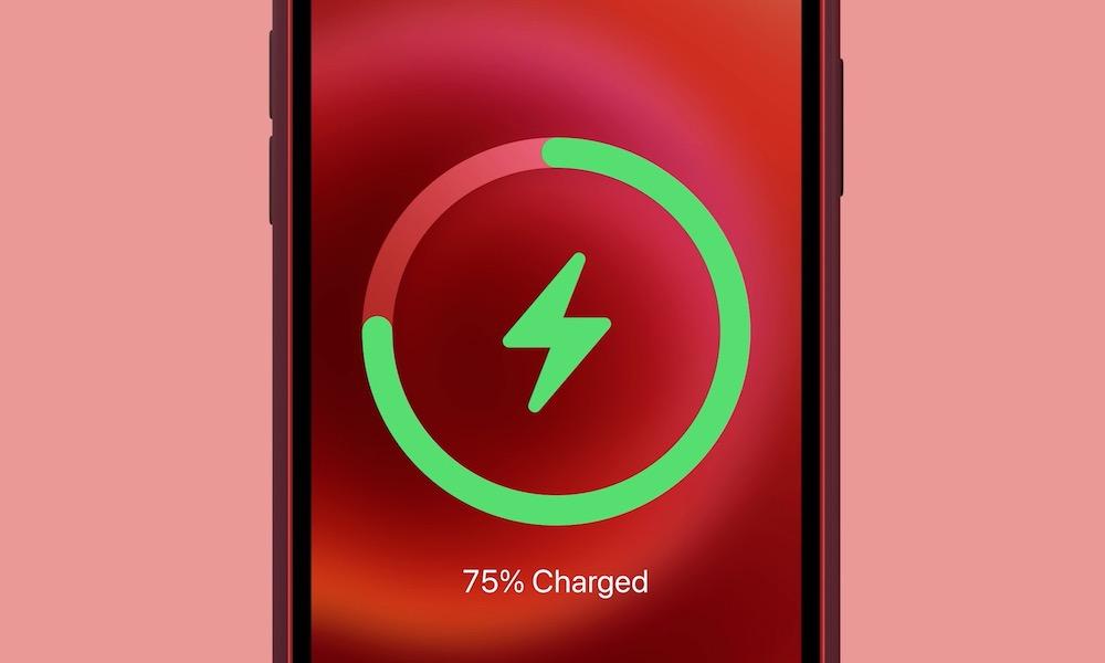 MagSafe Wireless Charging Battery Indicator