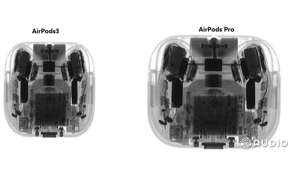 AirPods 3 leaked x ray image