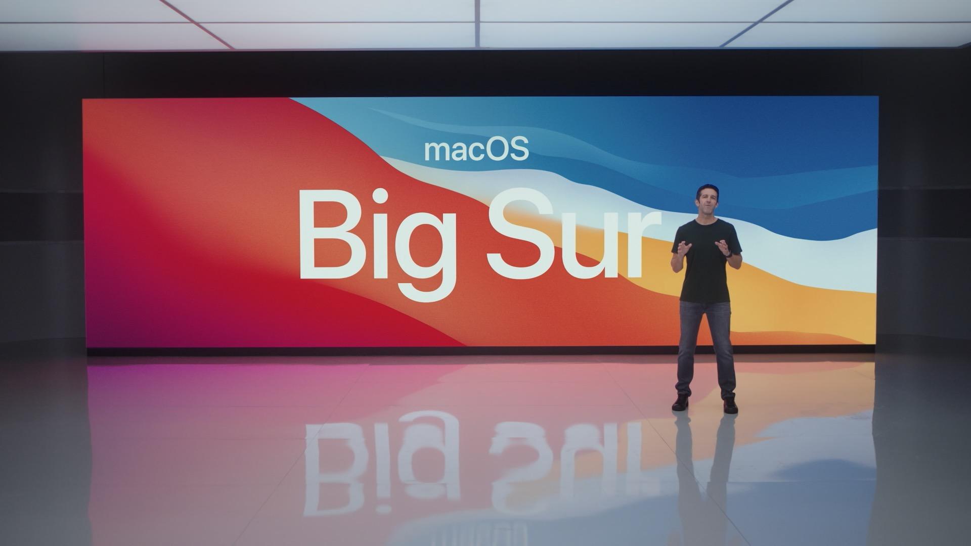 macOS Big Sur 1