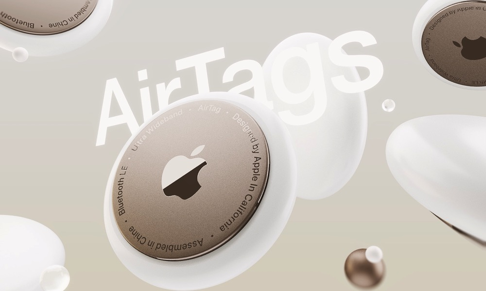Apple AirTags Concept Image
