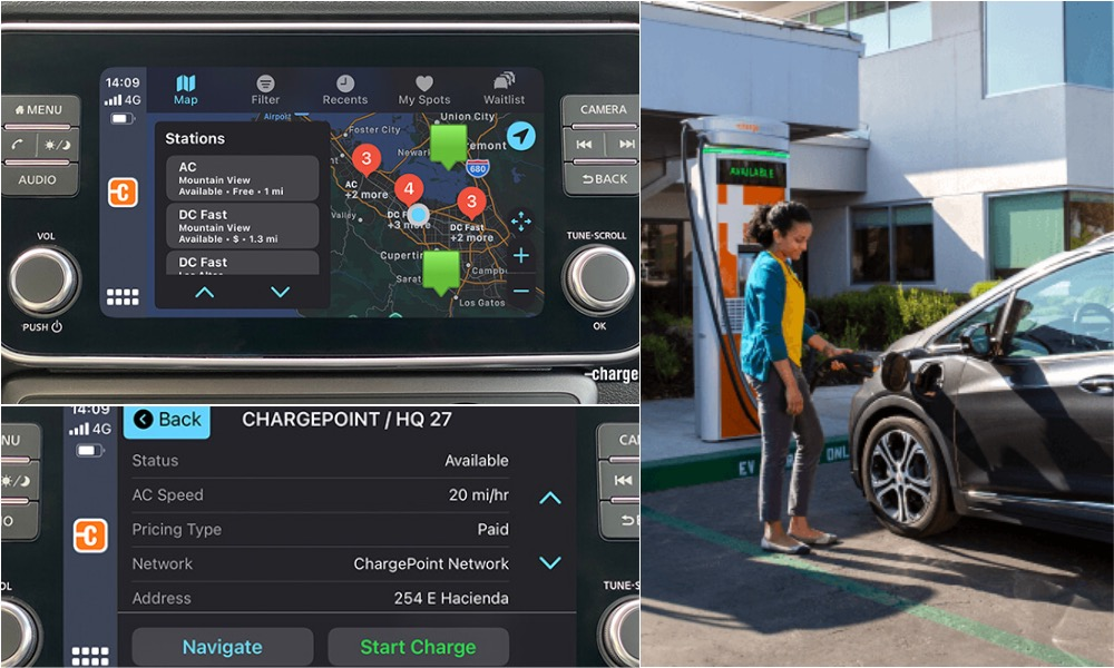 ChargePoint EV CarPlay