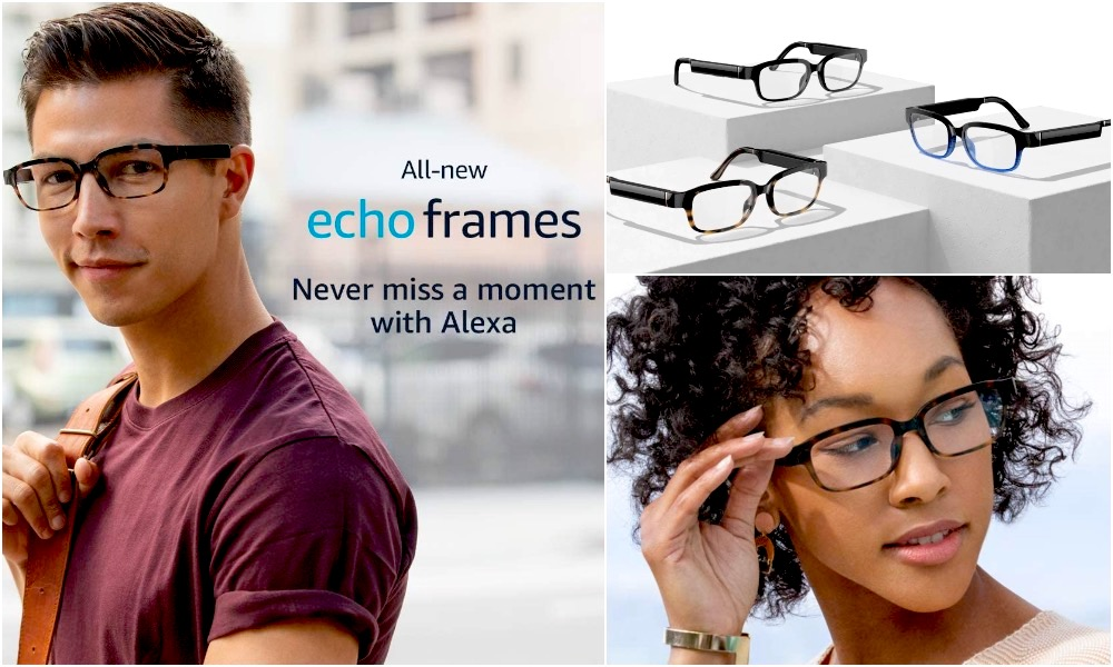 All New Echo Frames from Amazon with Alexa