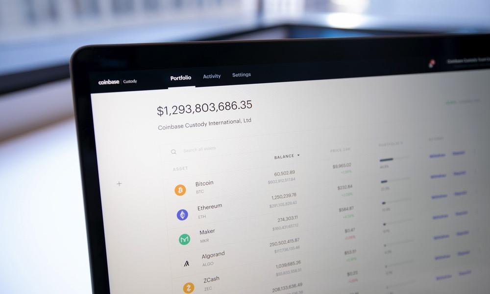 Coinbase Portfolio Value