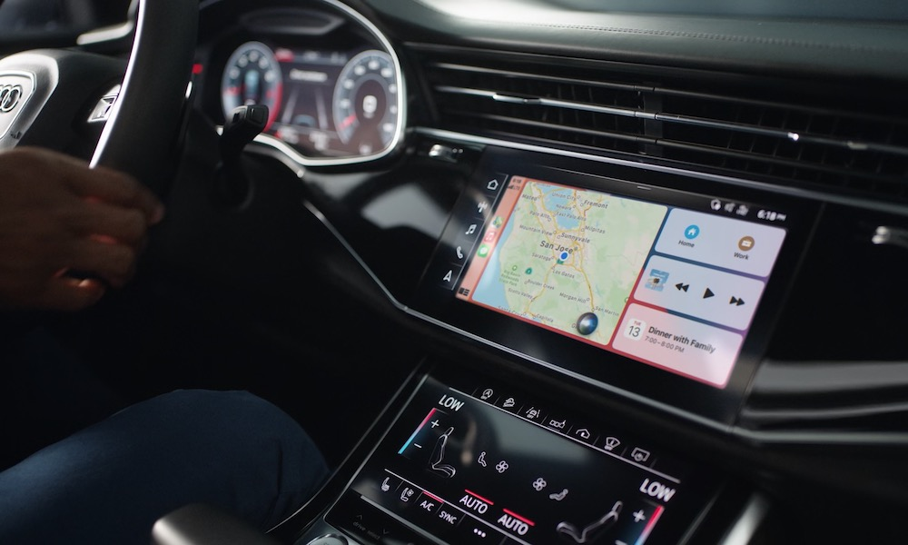 Using CarPlay Intercom in an Audi