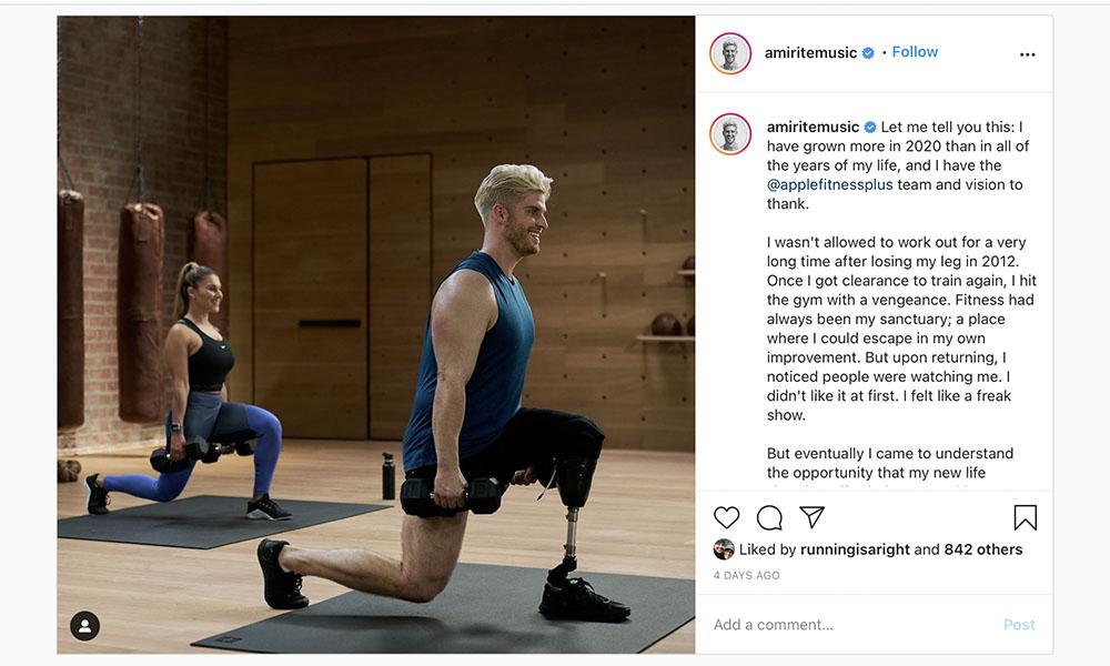 Instagram Apple Fitness 1