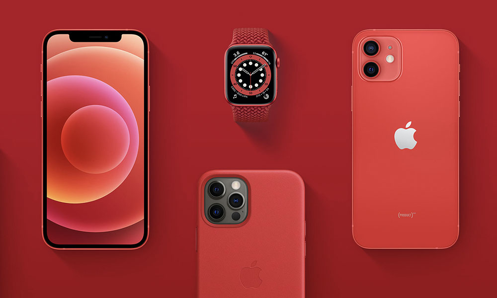 Apple Product RED Lineup 2020