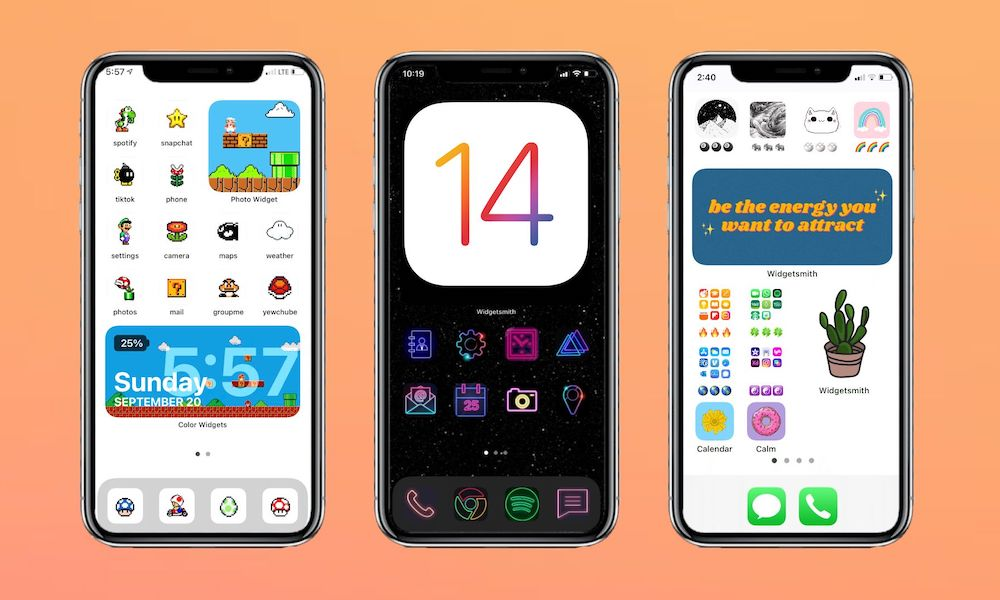 Custom iPhone Icons in iOS 14
