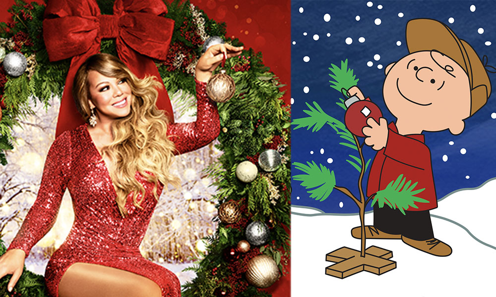 Mariah Carey and Charlie Brown Christmas Specials