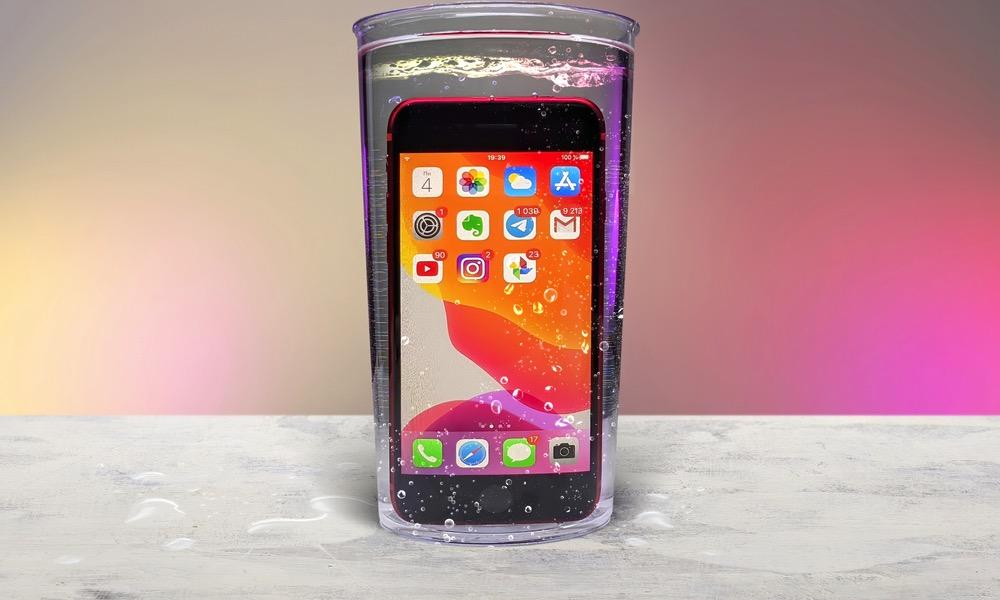 Apple iPhone Water Resistance IP68 5
