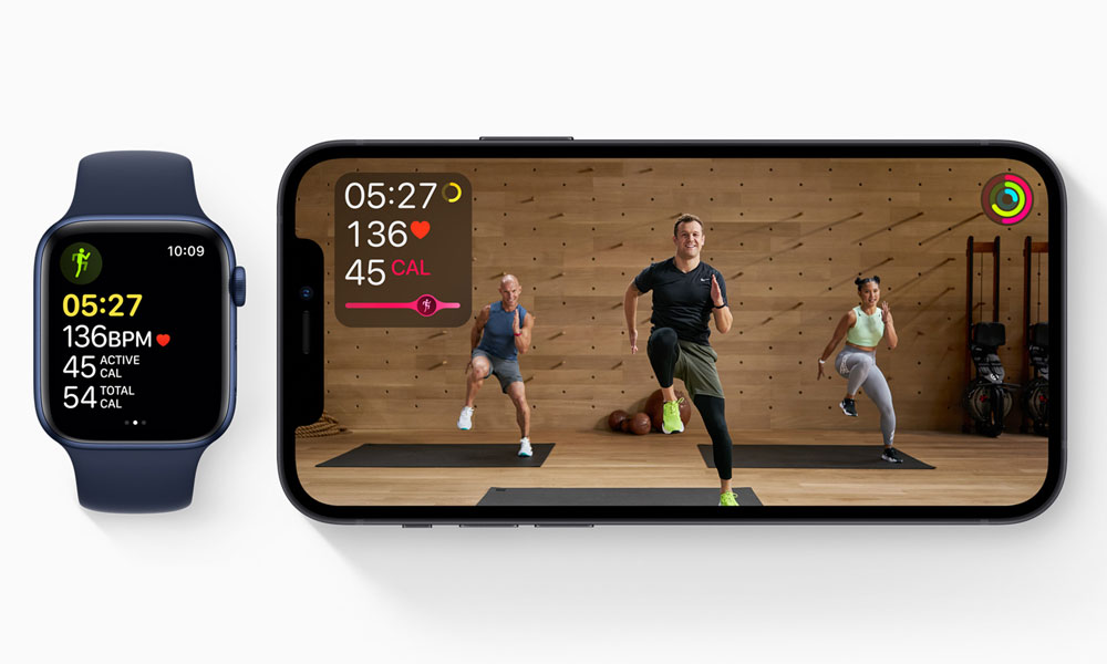 Apple Fitness Plus Apple Watch and iPhone