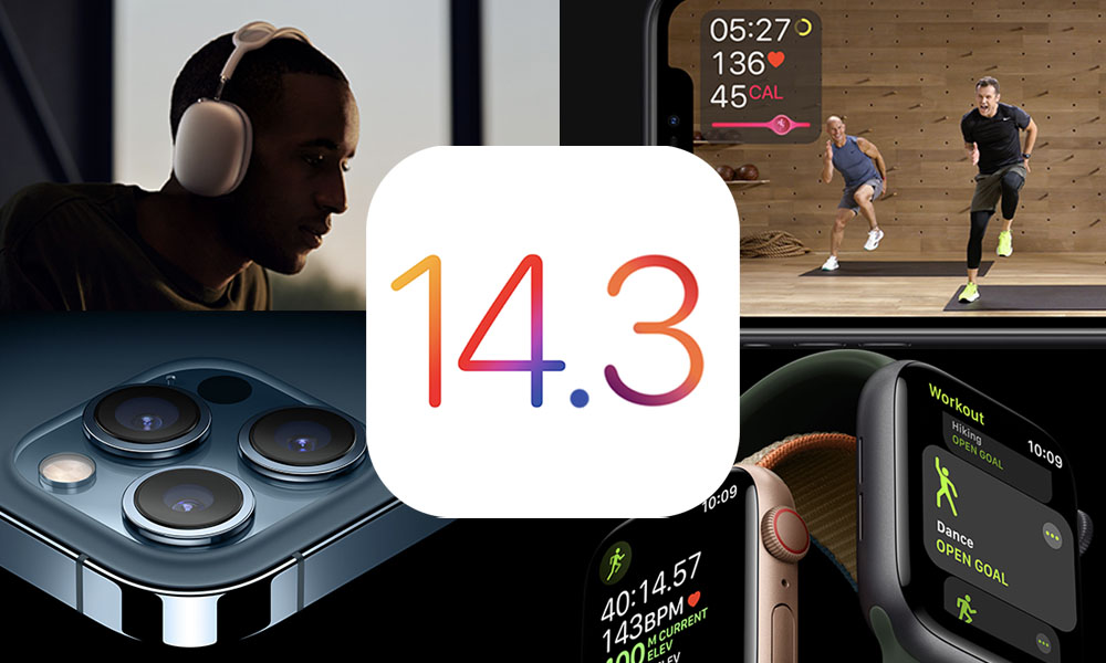 Apple Officially Releases iOS 14.3 and watchOS 7.2 with These 10 New Features