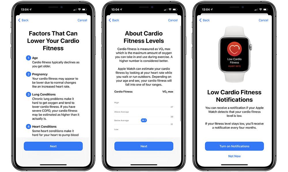 Apple Watch Cardio Fitness Setup 2