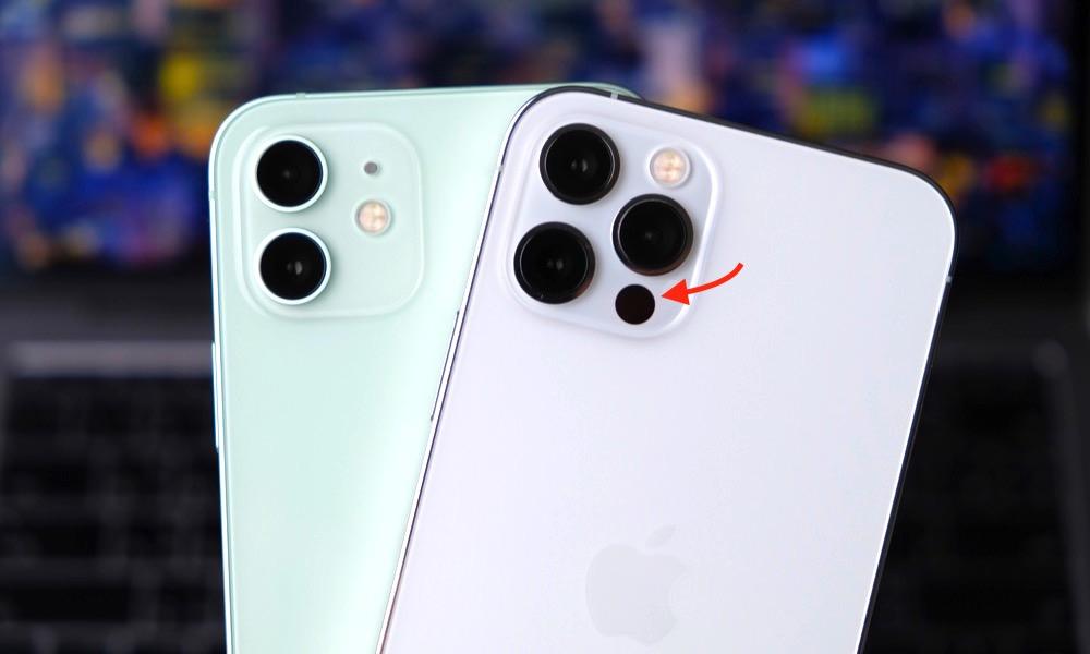 iPhone 12 Pro LiDAR Scanner Sensor