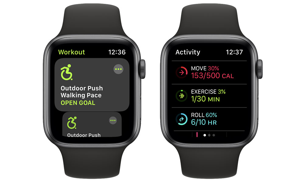 Apple Watch Wheelchair Workouts