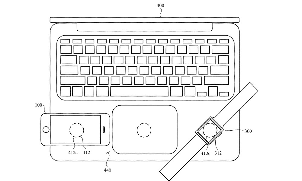 Apple patent iPhone and Watch charging from MacBook
