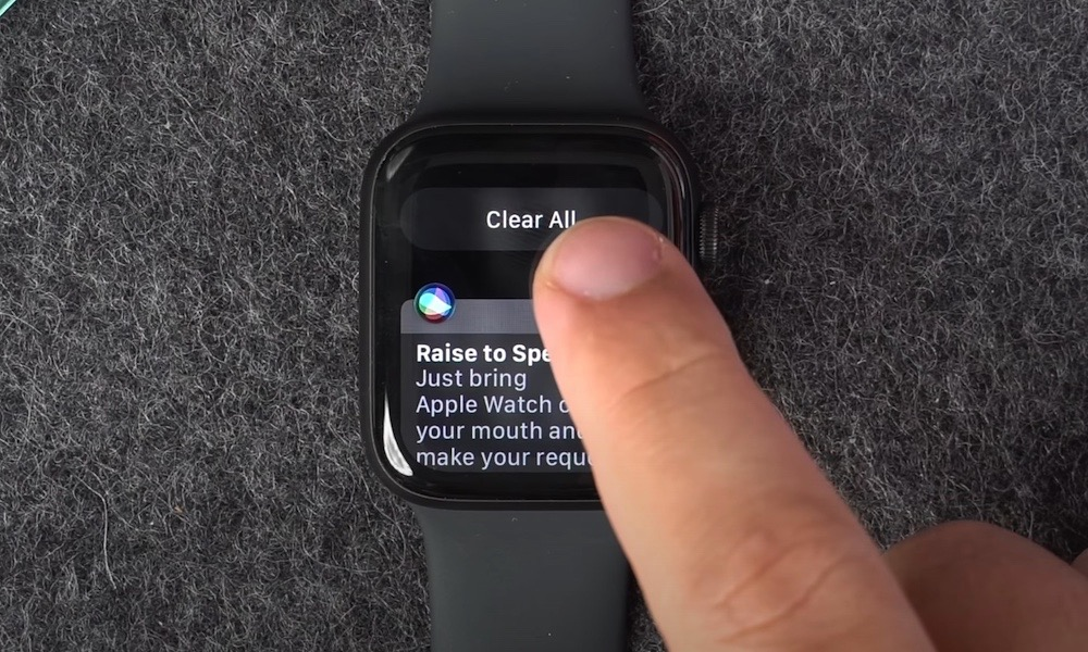 Clear All Notification on Apple Watch