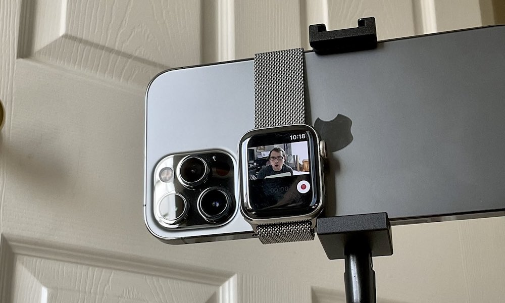 Apple Watch as Viewfinder for iPhone