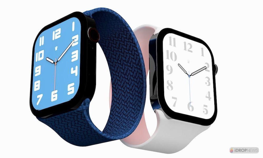 Apple Watch Series 7 Concept Renders iDrop News 1000x600 2