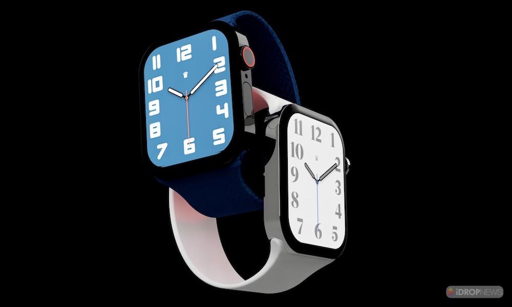 Apple Watch Series 7 Concept Renders iDrop News 1000x600 5