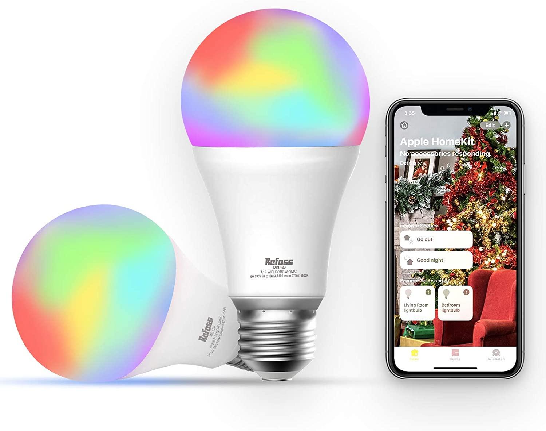 Refoss Smart Light Bulb 2 Pack