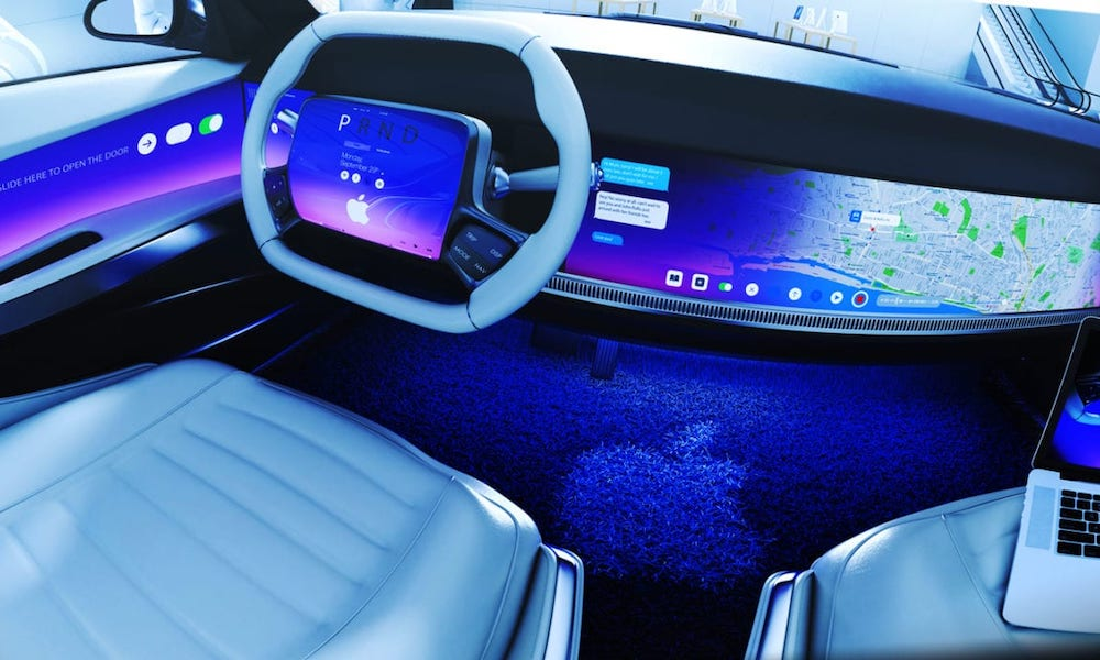 Apple Car Interior Concept Stefano Tsai