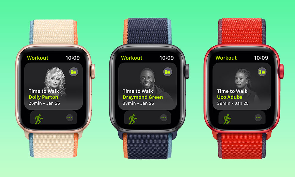 Apple Time to Walk Workouts