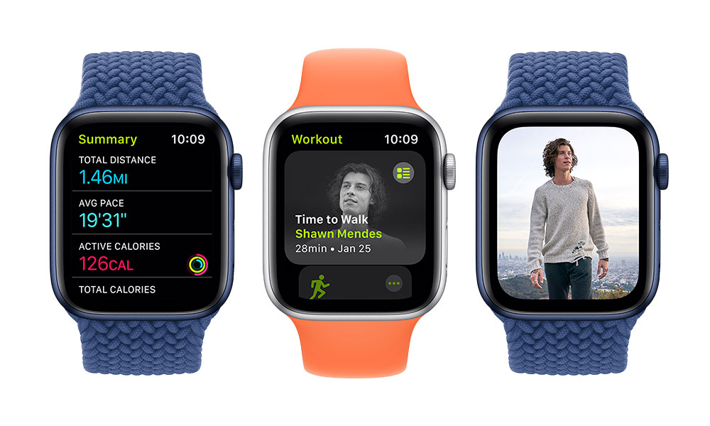 Apple Watch Time to Walk Workout Shawn Mendes