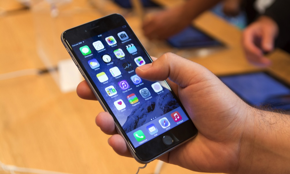 iPhone 6 at Apple Store