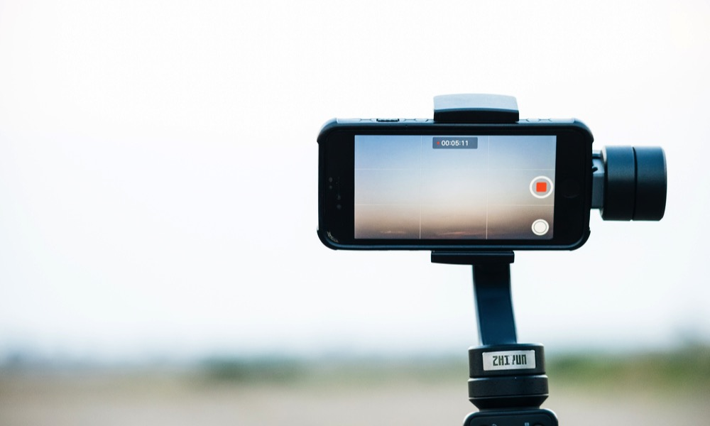 Recording Video on iPhone with Gimbal