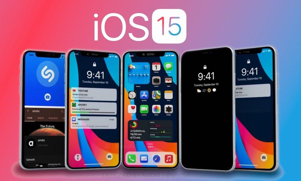 iOS 15 Concept Image