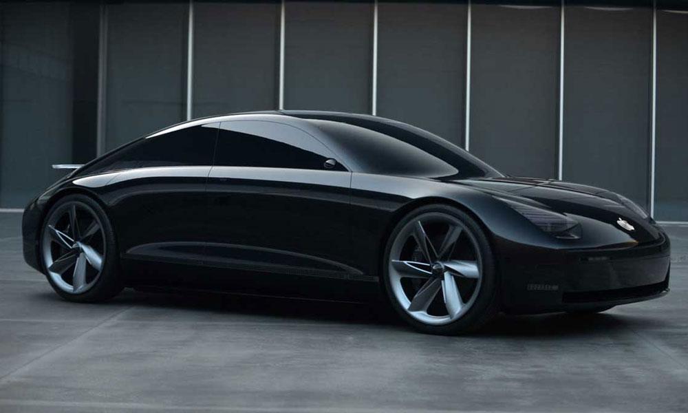 Hyundai Prophecy Apple Car Concept